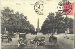 CPA DE BERLIN  (ALLEMAGNE)  SIEGESALLEE IM TIERGARTEN - Tiergarten