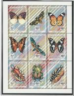 COMORES Scott 812 Yvert ? Michel 1043-1051 ? (9) ** Cote 15,00 $ 1994 Surdimentionné - Comores (1975-...)