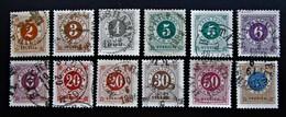 B2826 - Sweden - 1886 -  Mich. 29-37 - Schweden