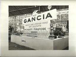 """2177 """" STAND GANCIA ALLA FIERA DI PARIGI DEL 1939. """" ORIGINALE - Foto Dedicate"""