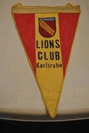 Rare Fanion Lion's Club Karlsruhe - Organisations
