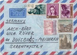 Postal History: Spain Cover, Puerto De La Cruz Cancel - 1961-70 Lettres