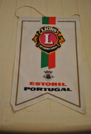 Rare Fanion Lion's Club Estoril Portugal - Organisations