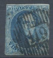 Nr 11A Obl D119 OBOURG NIPA 3000 TB - 1858-1862 Médaillons (9/12)