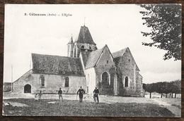 CP GÉLANNES L'Eglise - Frankrijk