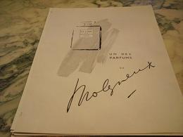 ANCIENNE PUBLICITE PARFUM LE CHIC DE MOLYNEUX 1946 - Parfums & Beauté