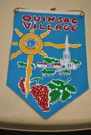 Rare Fanion Lion's Club Quinsac Village - Organisations