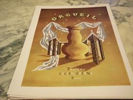 ANCIENNE PUBLICITE PARFUM ORGUEIL DE LUCIEN LELONG 1946 - Parfums & Beauté