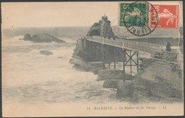 BIARRITZ - Le Rocher De La Vierge - Biarritz