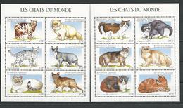 COMORES Scott 823-824 Yvert 618-623, 627-632 (12) ** Cote 30,00 $ 1997 - Comores (1975-...)