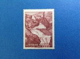1966 RWANDA REPUBLIQUE RWANDAISE MONTAGNA FIUME NYAMILANGA 40 C FRANCOBOLLO NUOVO STAMP NEW MNH** - 1962-69: Nuovi