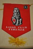 Rare Fanion Lion's Club Firenze - Organisations