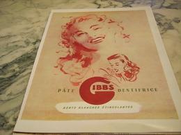 ANCIENNE PUBLICITE PATE DENTIFRICE GIBBS   1946 - Parfums & Beauté
