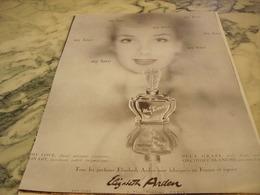 ANCIENNE PUBLICITE PARFUM MY LOVE DE ELIZABETH ARDEN 1951 - Parfums & Beauté