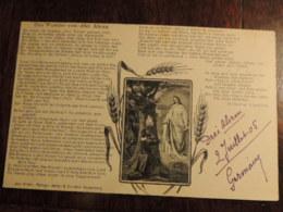 CPA RELIGION CHRIST  DAS WUNDER VON DREI AHREN    ECRITE 1905  TBE - Otros