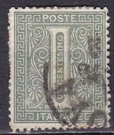 Regno D'Italia, 1863 - 1c Serie De La Rue O Effige Di Vittorio Emanuele II - Nr.14T Usato° - Usati