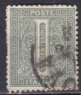 Regno D'Italia, 1863 - 1c Serie De La Rue O Effige Di Vittorio Emanuele II - Nr.14T Usato° - 1861-78 Vittorio Emanuele II