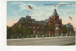 NEW YORK CITY, New York, USA, Hebrew Orphan Asylum, Washington Heights, Pre-120 Postcard, Judaica - Sonstige