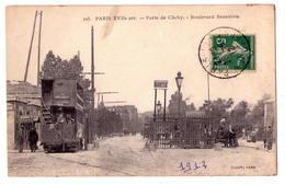 3830 -  Paris ( XVIIe ) - Porte De Clichy ( Boulevard Bessières - N°105 - Cadot à Paris - - Arrondissement: 17