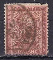 Regno D'Italia, 1863 - 2c Serie De La Rue O Effige Di Vittorio Emanuele II - Nr.15T Usato° - Usati