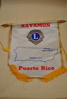 Rare Fanion Lion's Club Bayamon Puerto Rico - Organisations