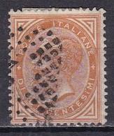 Regno D'Italia, 1863 - 10c Serie De La Rue O Effige Di Vittorio Emanuele II - Nr.17 Usato° - Usati