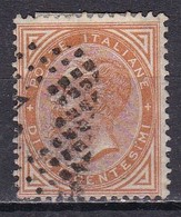 Regno D'Italia, 1863 - 10c Serie De La Rue O Effige Di Vittorio Emanuele II - Nr.17 Usato° - 1861-78 Vittorio Emanuele II