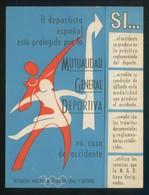 *Mutualidad General Española* Impreso Díptico. Meds: 104x137 Mms. - Publicidad