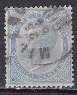 Regno D'Italia, 1863 - 15c Serie De La Rue O Effige Di Vittorio Emanuele II - Nr.18L Usato° - Usati