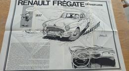 Affiche Poster Renault Frégate Transfluide. Jidéhem (Jean De Mesmaeker) Calendula Et Hermes - Affiches