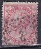 Regno D'Italia, 1863 - 40c Serie De La Rue O Effige Di Vittorio Emanuele II - Nr.20T Usato° - Usati