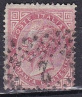 Regno D'Italia, 1863 - 40c Serie De La Rue O Effige Di Vittorio Emanuele II - Nr.20T Usato° - 1861-78 Vittorio Emanuele II