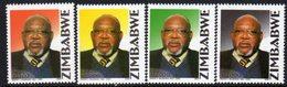Zimbabwe 2004 1st Anniversary Of Death Of Simon Vengai Muzenda Set Of 4, MNH, SG 1139/42 (BA) - Zimbabwe (1980-...)