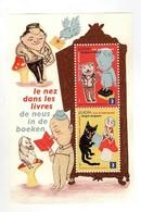 Le Nez Dans Les Livres, De Neus In De Boeken Belgium 2010 - Booklets 1953-....