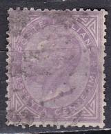 Regno D'Italia, 1863 - 60c Serie De La Rue O Effige Di Vittorio Emanuele II - Nr.21T Usato° - 1861-78 Vittorio Emanuele II