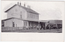 TREMBOWLA Terebovlya/Terebovla. Railway, Station, Train, La Gare. RARE. Galicia/Galizien, Poland, Austria, Ukraine. - Ukraine