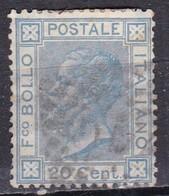 Regno D'Italia, 1867 - 20 Cent Vittorio Emanuele II° - Nr.26 Usato° - Usati