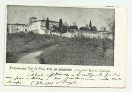 SANCASCIANO VAL DI PESA - VILLA DEL BORROMEO  - VIAGGIATA FP - Firenze