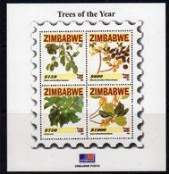 Zimbabwe 2006 Trees Of The Year MS, MNH, SG 1210 (BA) - Zimbabwe (1980-...)