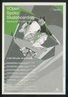 Barcelona. *II Open Spoko Skateboarding 2001* Nueva. - Skateboard