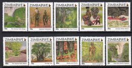 Zimbabwe 2015 Tourism Set Of 10, MNH (BA) - Zimbabwe (1980-...)