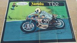 Affiche Poster. Yamaha TD2 Jidéhem (Jean De Mesmaeker) - Affiches