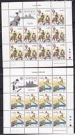 1981 Malta EUROPA CEPT EUROPE 10 Serie Di 2v. MNH** In Minifoglio Minisheet - 1981