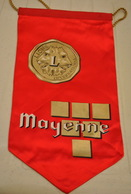 Rare Fanion Lion's Club Mayenne - Organizations