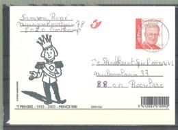 EP Belgique Roi Albert II - Bd Prince Riri - Brugge ( Gortkamp ) Vers Roeselare 2004 - Philabédés