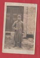 Carte Photo Soldat Du 106 Régiment  ? Du Camp De Quedlinburg En Allemagne - 1914-18