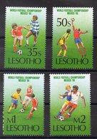 LESOTHO  Timbres Neufs ** De 1986  ( Ref 5930 )   Sport - Football - Lesotho (1966-...)