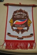Rare Fanion Lion's Club Barangay Quezon-city Philippines - Organisations
