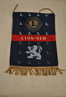 Rare Fanion Lion's Club Lyon-Sud - Organisations