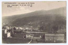 CASTEL DEL PIANO ( GROSSETO ) CON VEDUTA DEL M. AMIATA ED. VENTURINI 1912 (2981) - Grosseto